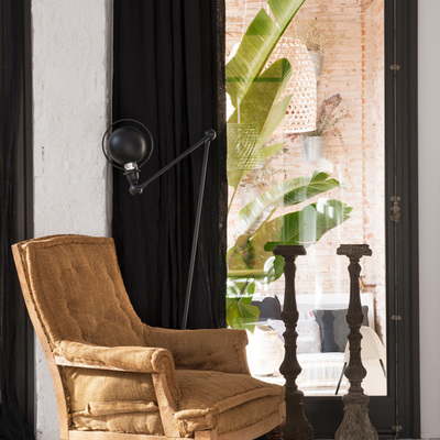 Cortinas negras cortinas negras modernas para sala for Butacas modernas baratas