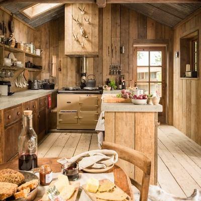 Cabaña estilo rustico