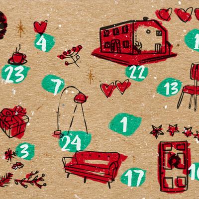 Calendario de Adviento - Día 6: un árbol de Navidad DIY