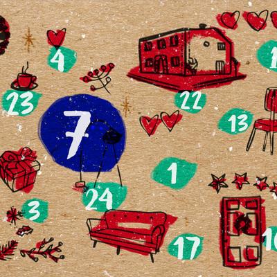 Calendario de Adviento - Día 7: un toque de personalidad para tus paredes