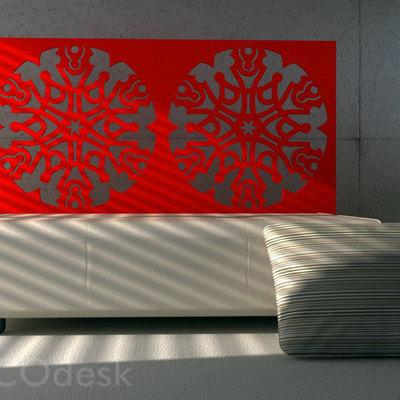 cabeceras de cama en base de celosias