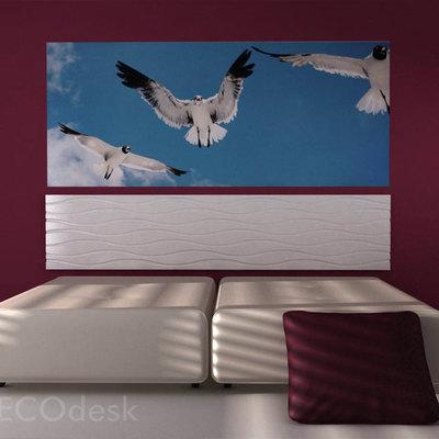 cabeceras de cama - tablero, control numerico + laca brillo
