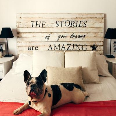 Hazlo tú mismo: 5 Ideas para montar un cabecero de cama único