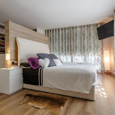 9 ideas para abrir tu dormitorio a otra estancia