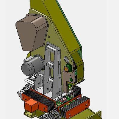 Máquina de lijado de piezas de aluminio