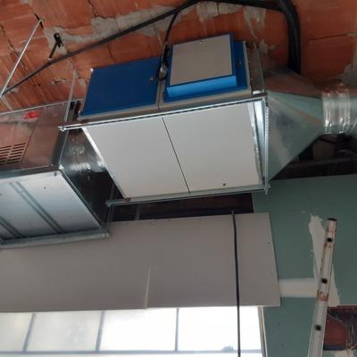 Instalación de ventilación restaurante Nintai Marbella