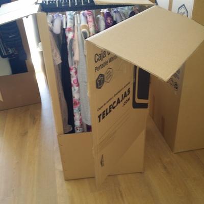 Organización Habitación niña tras mudanza