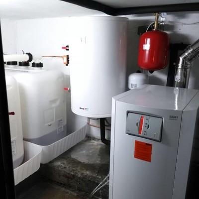 Sala de calderas a Gasoil