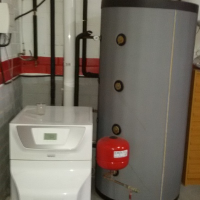 Instalación caldera gasoil