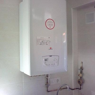 Instalacin caldera condensacion./ nox + certificado