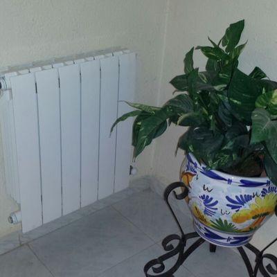 Calefacción de radiadores por caldera de gasoil