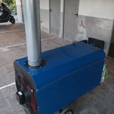 Alquiler de calefactores a Gasoil