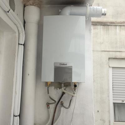 Instalacion básica calentador vaillant