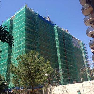 Rehabilitación De Fachada En C.Andrade Esquina Puigcerdà, Barcelona