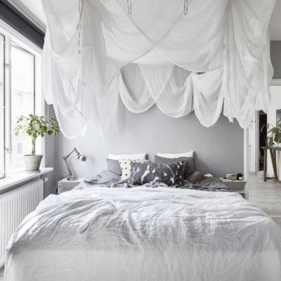 """Un apartamento escandinavo con un efecto """"green"""" muy acogedor"""