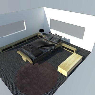 Diseño cama modular