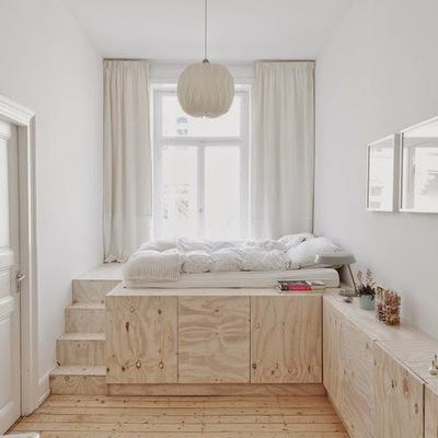 10 camas que te ayudan a ahorrar espacio