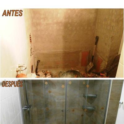 Cambio de ducha y mampara en Barcelona