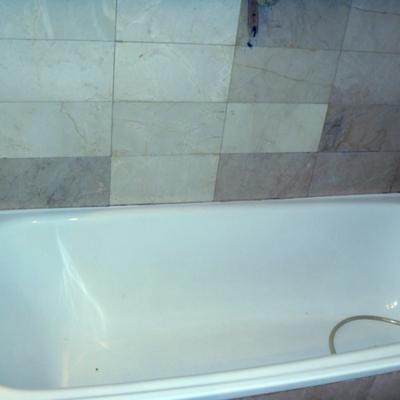 Cambio de bañera.