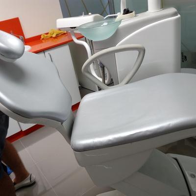 Tapizado de clinica dental