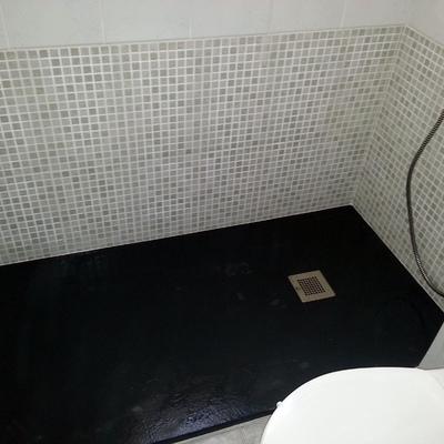 Cambio plato ducha después