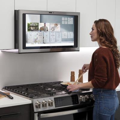 Una campana extractora con pantalla: el último gadget para tu cocina