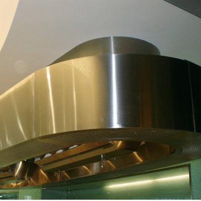 campana central en cocinas industriales y sistemas de ventilacion extracam