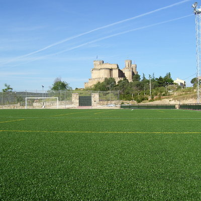 Campo de Fútbol 11 Hierba Artificial_Manzanares el Real