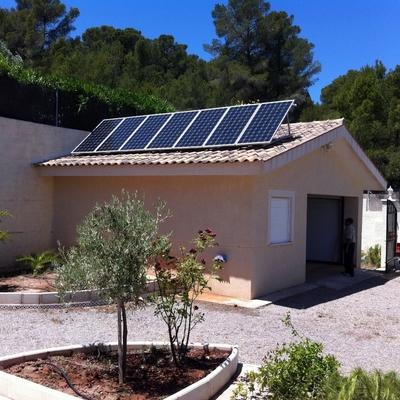 Instalación Fotovoltaica Aislada