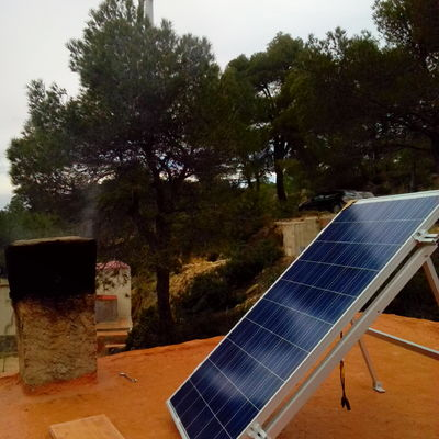 Solar fotovoltaica aislada