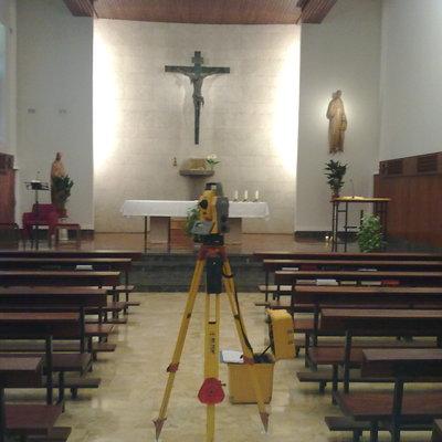 Levantamiento topográfico Clínica San Juan de Dios