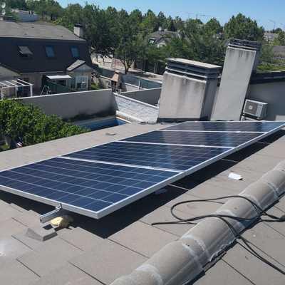 instalacion fotovoltaica 2800W en vivienda unifamiliar