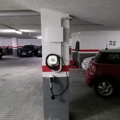 Instalación de dos puntos de recarga para Vehículo Eléctrico