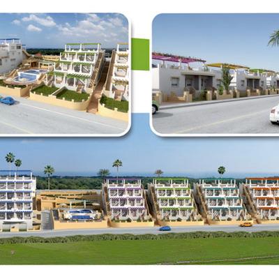 Edificio de 101 viviendas en Residencial Múltiple bloque exento con semisótano para garajes, zona verde y piscina