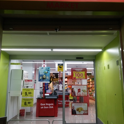Videovigilancia en supermercado Dia de Sant Joan Despí