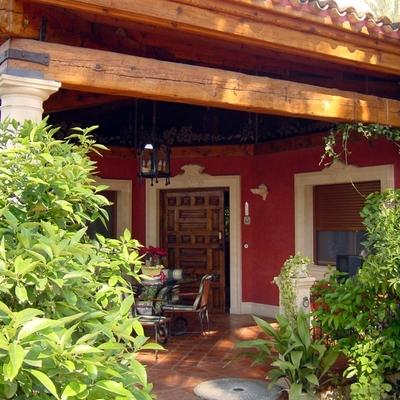 Casa 1 Porche de entrada