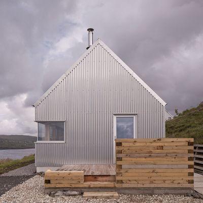 Casa prefabricada aluminio madera