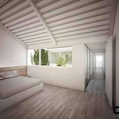 Casa 2QR_Dormitorios Planta Primera.