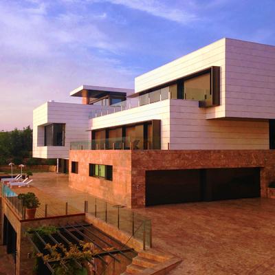 proyecto de vivienda unifamiliar en Málaga