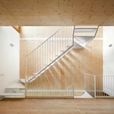 Casa de interior de madera