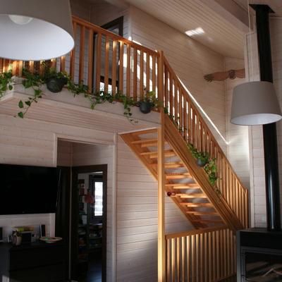 Casa de madera en Bellver