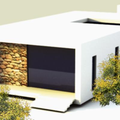 Proyecto de vivienda unifamiliar en Ibiza