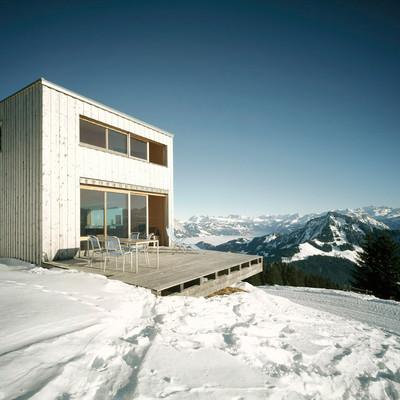 Casa en la montaña