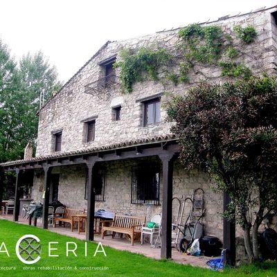 Reforma de cubierta en casa de pueblo de Carabias (Guadalajara)