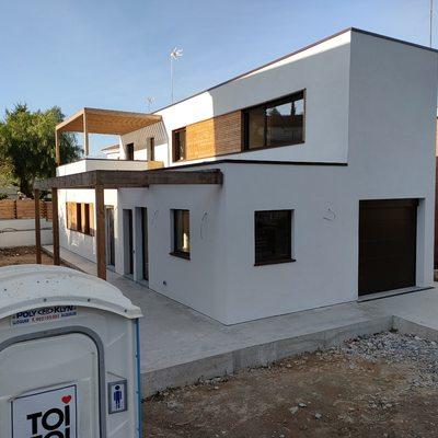 casa nueva construcción Sant Andreu de la barca
