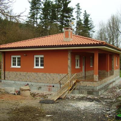 Casa modelo Arousa