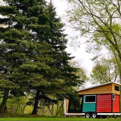 Casa móvil bosque