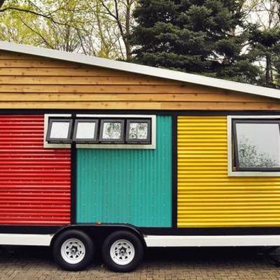 Casa móvil exterior