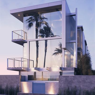 10 Casas innovadoras hechas de aluminio