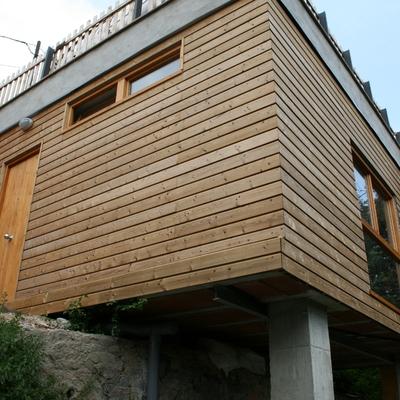 Casa de madera en la Floresta, Barcelona